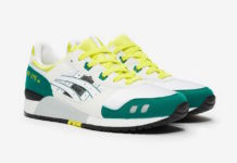 ASICS Gel Lyte III OG White Yellow Green Release Date