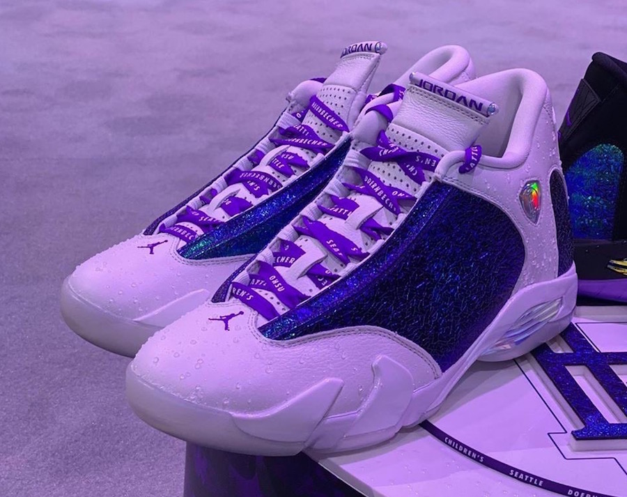 Air Jordan 14 Doernbecher Alternate Version Ethan Ellis Release Date