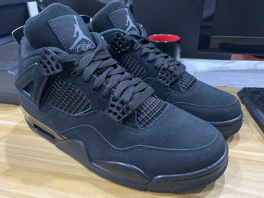 Air Jordan 4 IV Black Cat CU1110-010 2020 Release Date