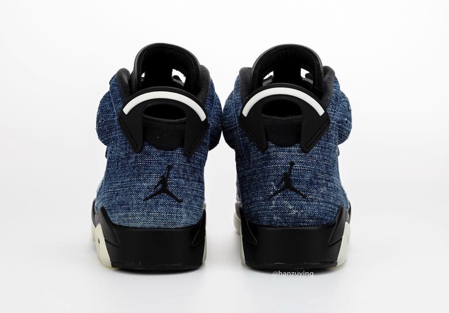 Air Jordan 6 Washed Denim CT5350-401 Release Date Pricing