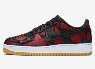 CLOT Fragment Nike Air Force 1 CZ3986-001 2019 Release Date