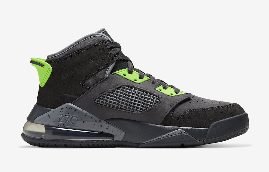 Jordan Mars 270 Anthracite Electric Green CT9132-001 Release Date
