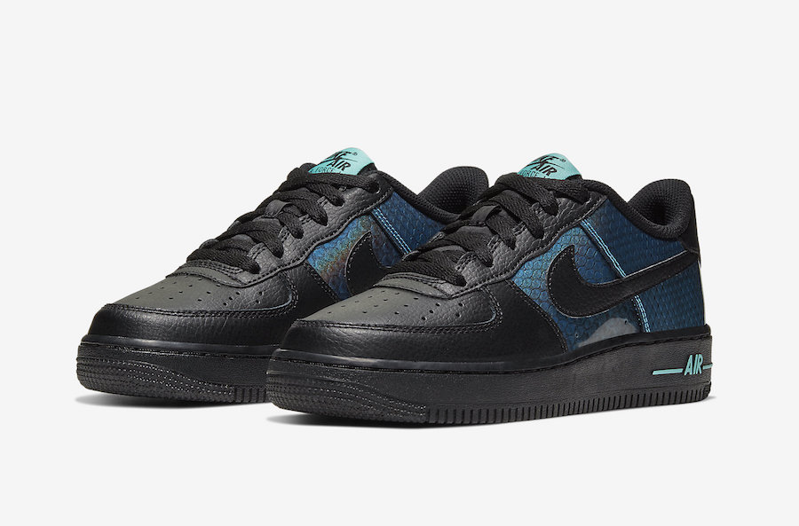 Nike Air Force 1 Dragon Scales CI3910-001 Release Date