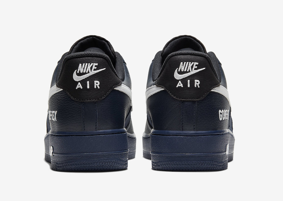 Nike Air Force 1 GORE-TEX Navy CK2630-400 Release Date