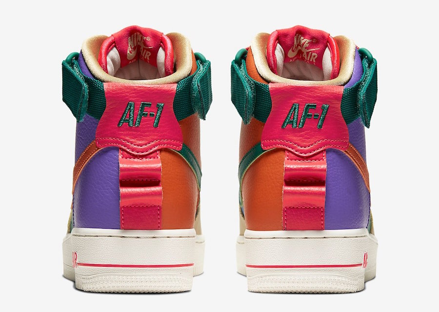Nike Air Force 1 High Utility Force is Female CQ4810-046 Release Date