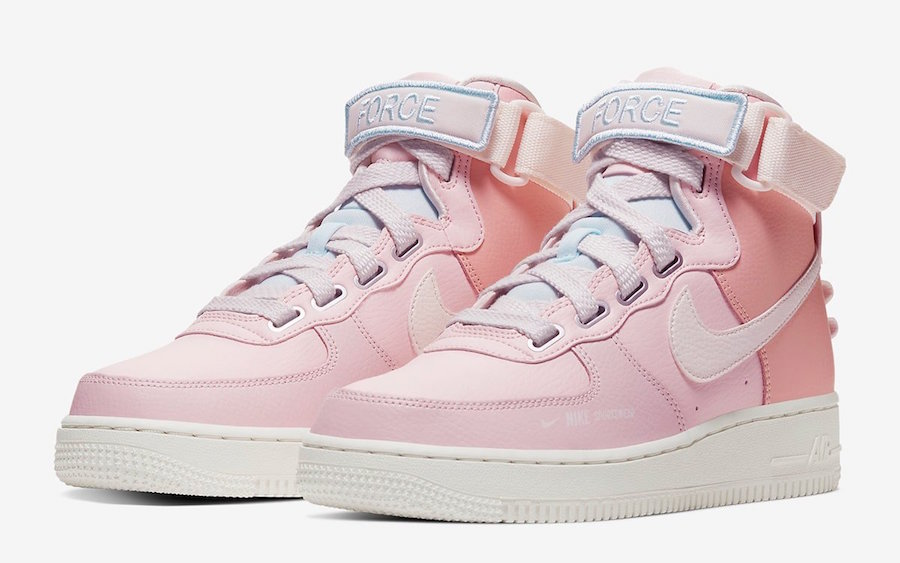 "Nike Air Force 1 High Utility ""Force is Female"" Release Date"