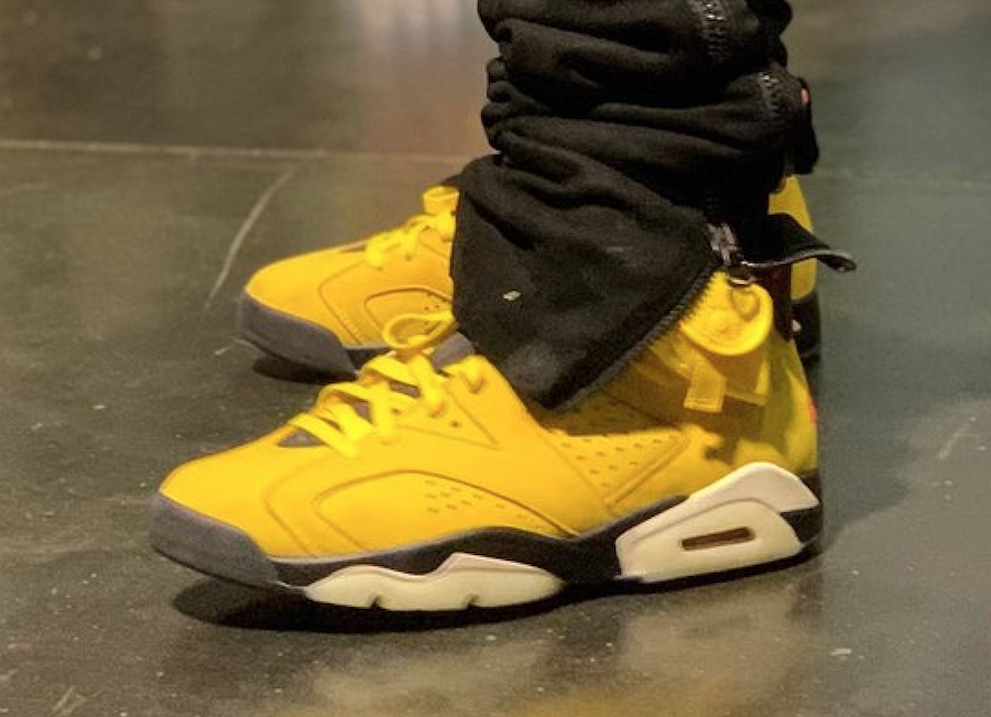 Travis Scott Air Jordan 6 Yellow Release Info