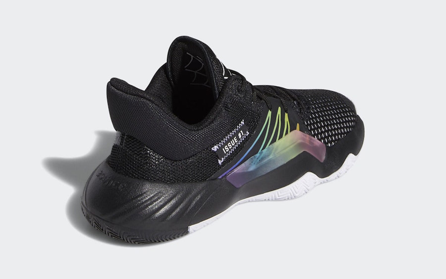 adidas DON Issue 1 Rainbow Spider-Man Release Date