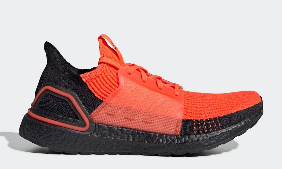adidas Ultra Boost 2019 Solar Red Black G27131 Release Date