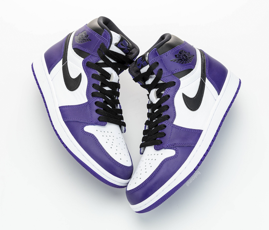 Air Jordan 1 Court Purple 2020 555088-500 Release Date