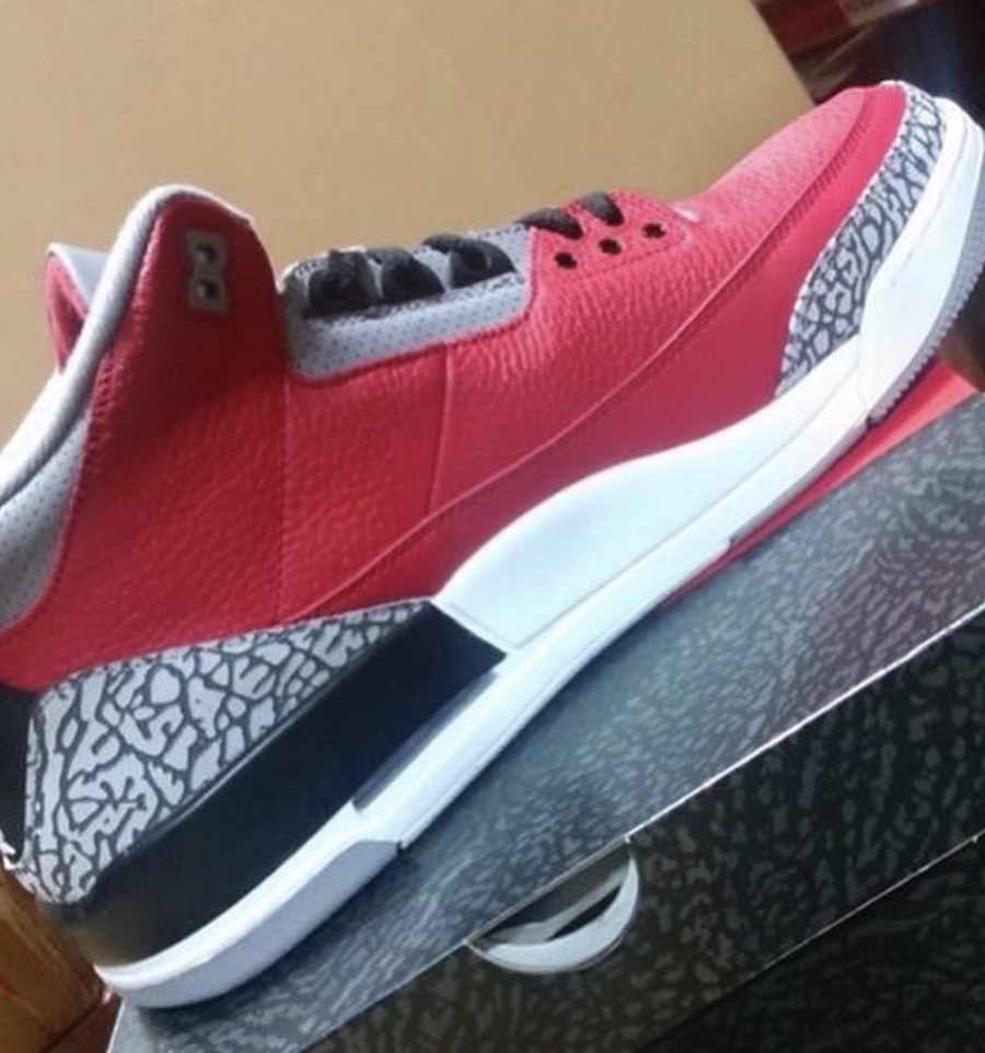 Air Jordan 3 Red Cement CK5692-600 Release Date