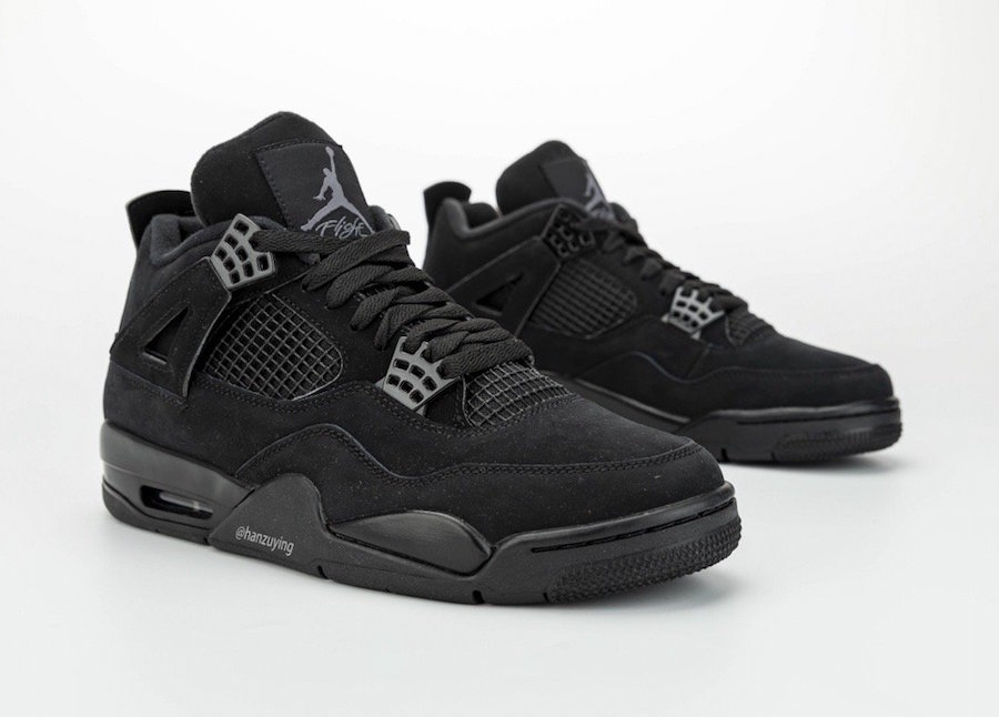 Black Cat Air Jordan 4 CU1110-010