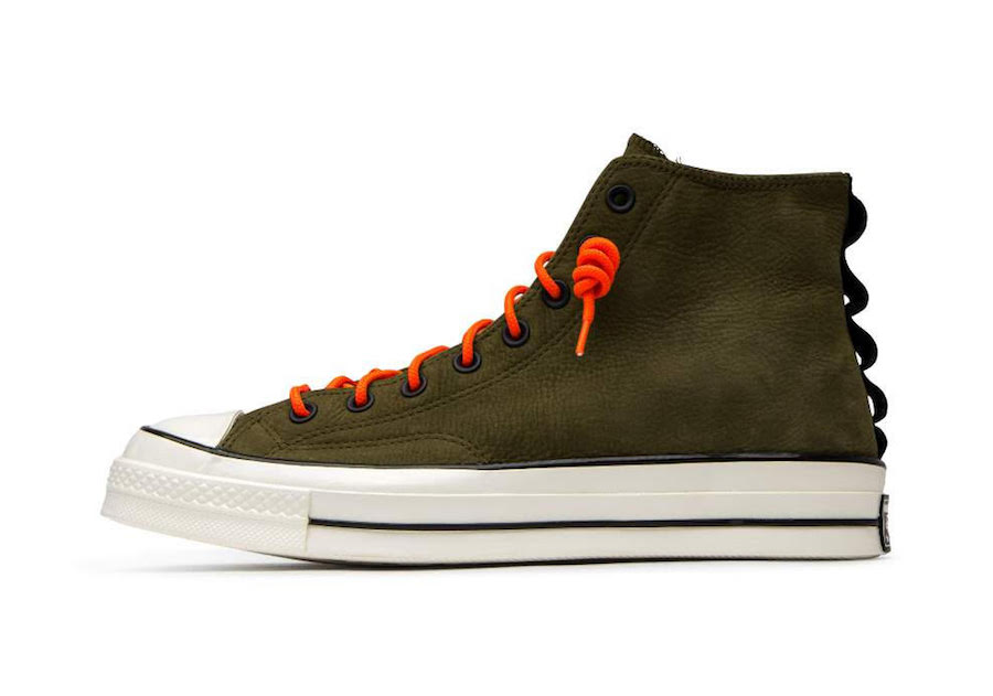 Converse Chuck 70 High Top Nubuck Leather Olive Release Date