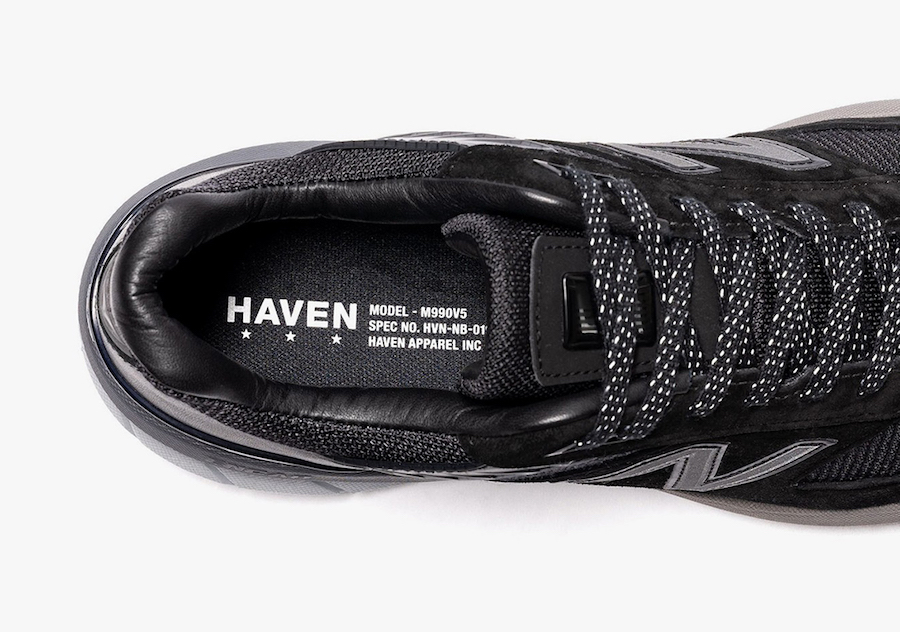 HAVEN New Balance 990v5 Release Date