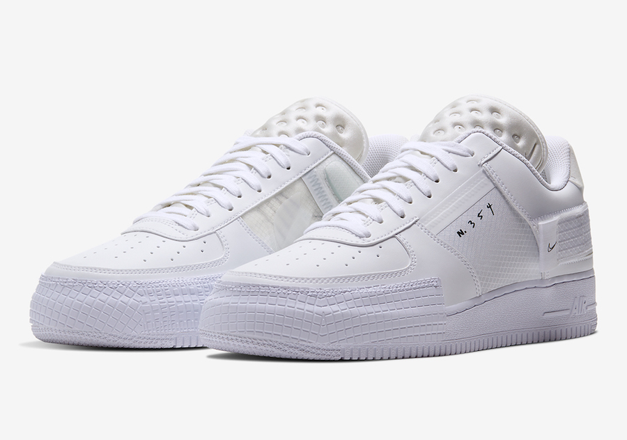 Nike Air Force 1 Type in Crisp White