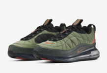 Nike Air MX 720-818 Cargo Khaki Orange CI3871-300 Release Date