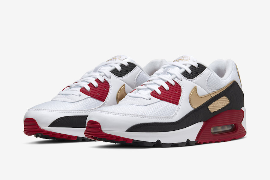 Nike Air Max 90 CNY Chinese New Year CU3005 171 Release Date