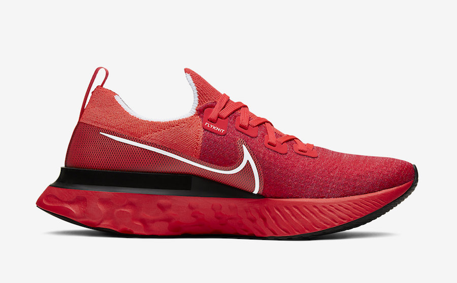 Nike React Infinity Run University Red CD4371-600 Release Date