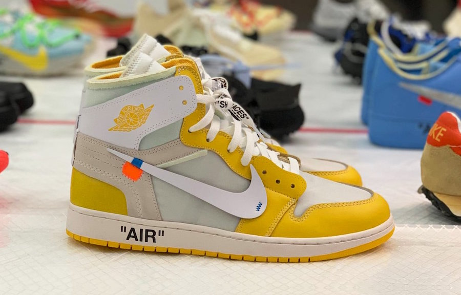 Off-White Air Jordan 1 Canary Yellow Release Date