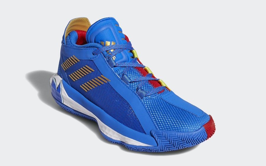 Sonic the Hedgehog adidas Dame 6 Release Date