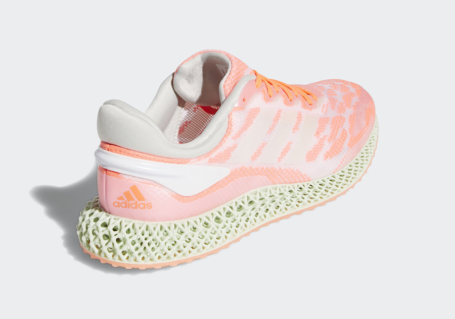 adidas 4D Run Signal Coral FW6838 Release Date