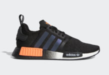 adidas NMD R1 Core Black Solar Orange FW0185 Release Date