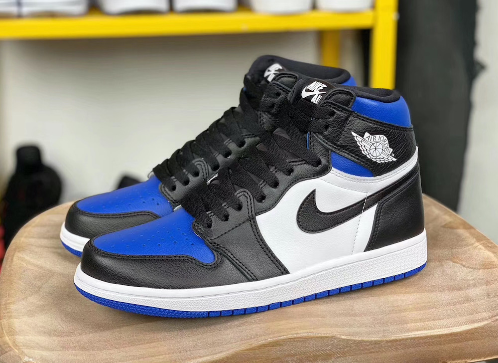 Air Jordan 1 Game Royal Toe 555088 041 Release Date Sbd