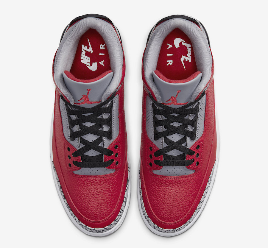 Air Jordan 3 Fire Red Cement CK5692-600 Release Date Price
