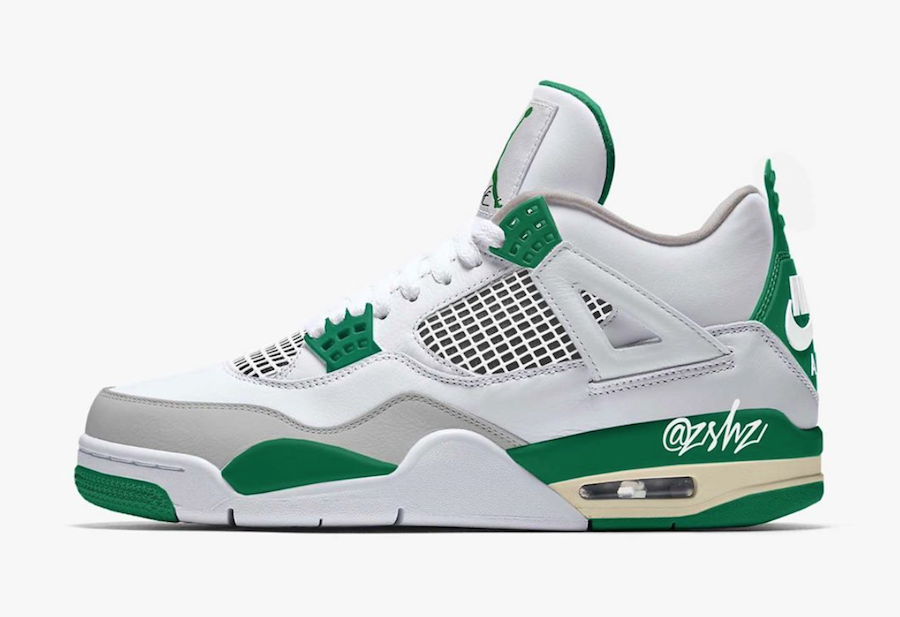 Air Jordan 4 Summit White Pine Green Neutral Grey Muslin CK6630-100 Release Date