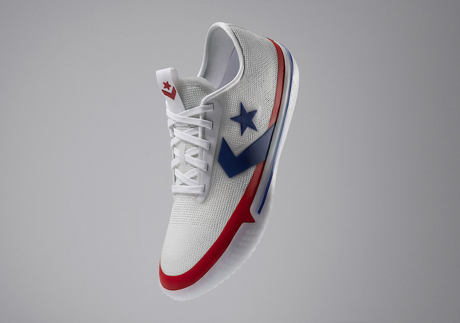 Converse All Star Pro BB Low White Blue Red All-Star Release Date