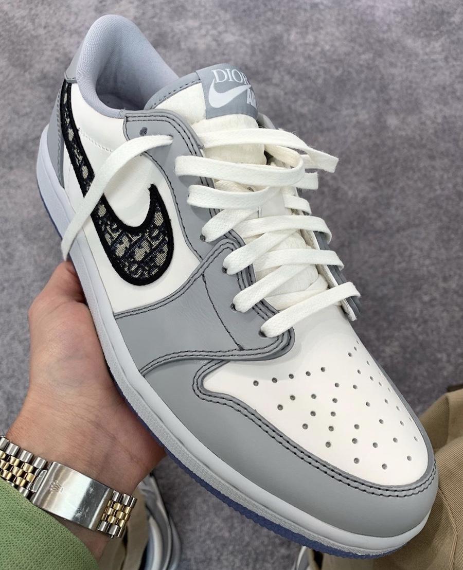 Dior Air Jordan 1 Low Release Date