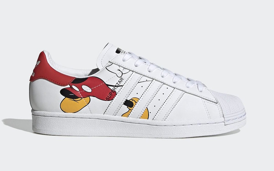 Disney Mickey Mouse adidas Superstar + Stan Smith Release