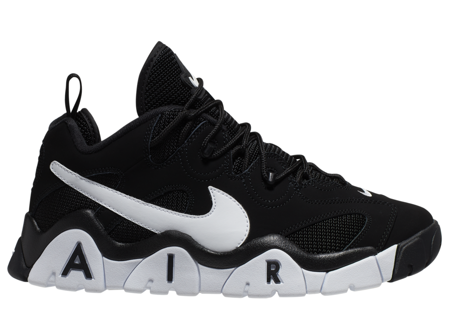 Nike Air Barrage Low Black White CD7510-001 Release Date