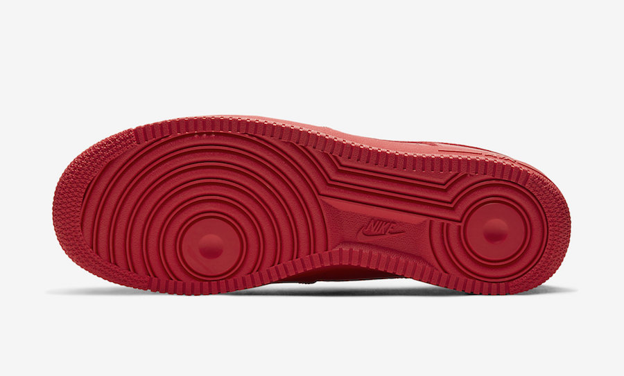 Nike Air Force 1 Low Triple Red CW6999-600 Release Date