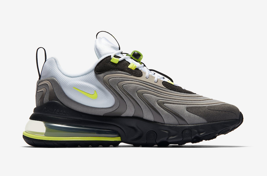 Nike Air Max 270 React Eng Neon Cw2623 001 Release Date Sbd