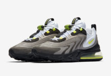 Nike Air Max 270 React ENG Neon CW2623-001 Release Date