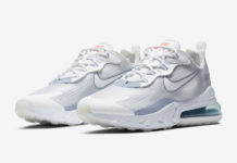 Nike Air Max 270 React Pure Platinum Indigo Fog CT1265-100 Release Date