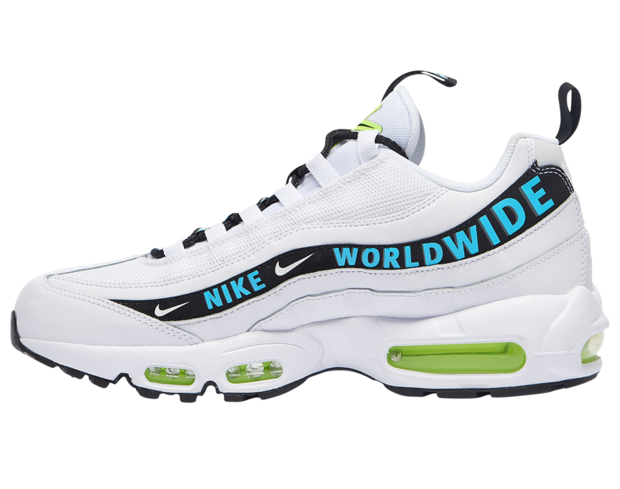 Nike Air Max 95 Worldwide Pack White CT0248-100 Release Date