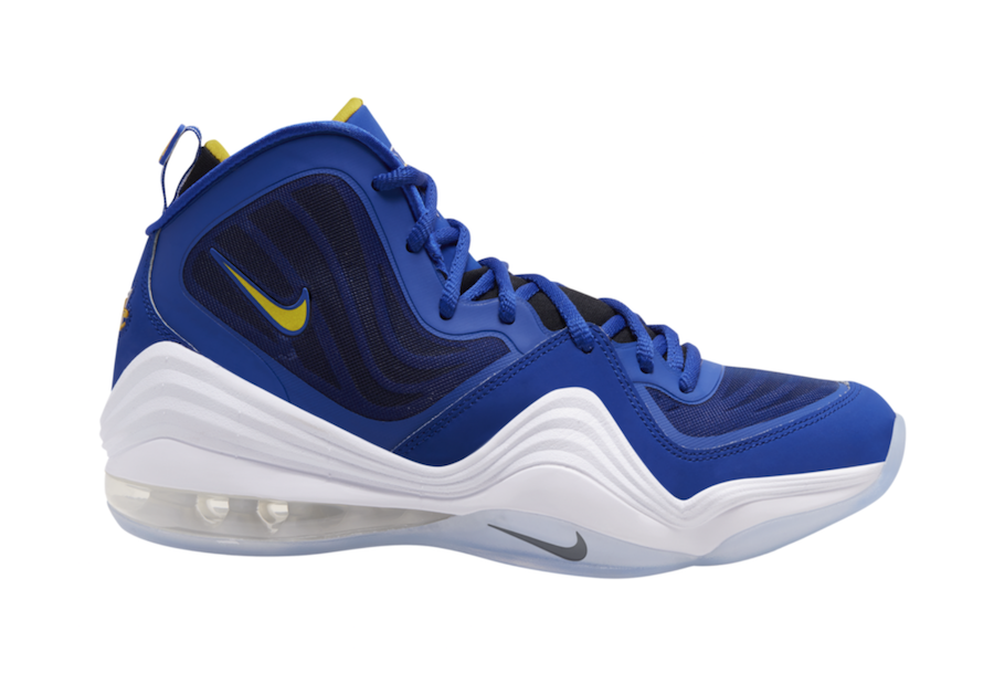 Nike Air Penny 5 Blue Chips 537331-402 Release Date
