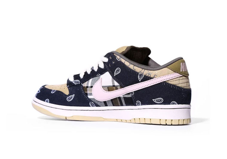Travis Scott Nike SB Dunk Low QS CT5053-001 Release Date