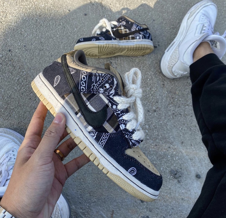 Travis Scott Nike SB Dunk Low Release Date Price