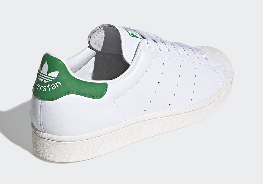 adidas Superstan White Green FW9328 Release Date