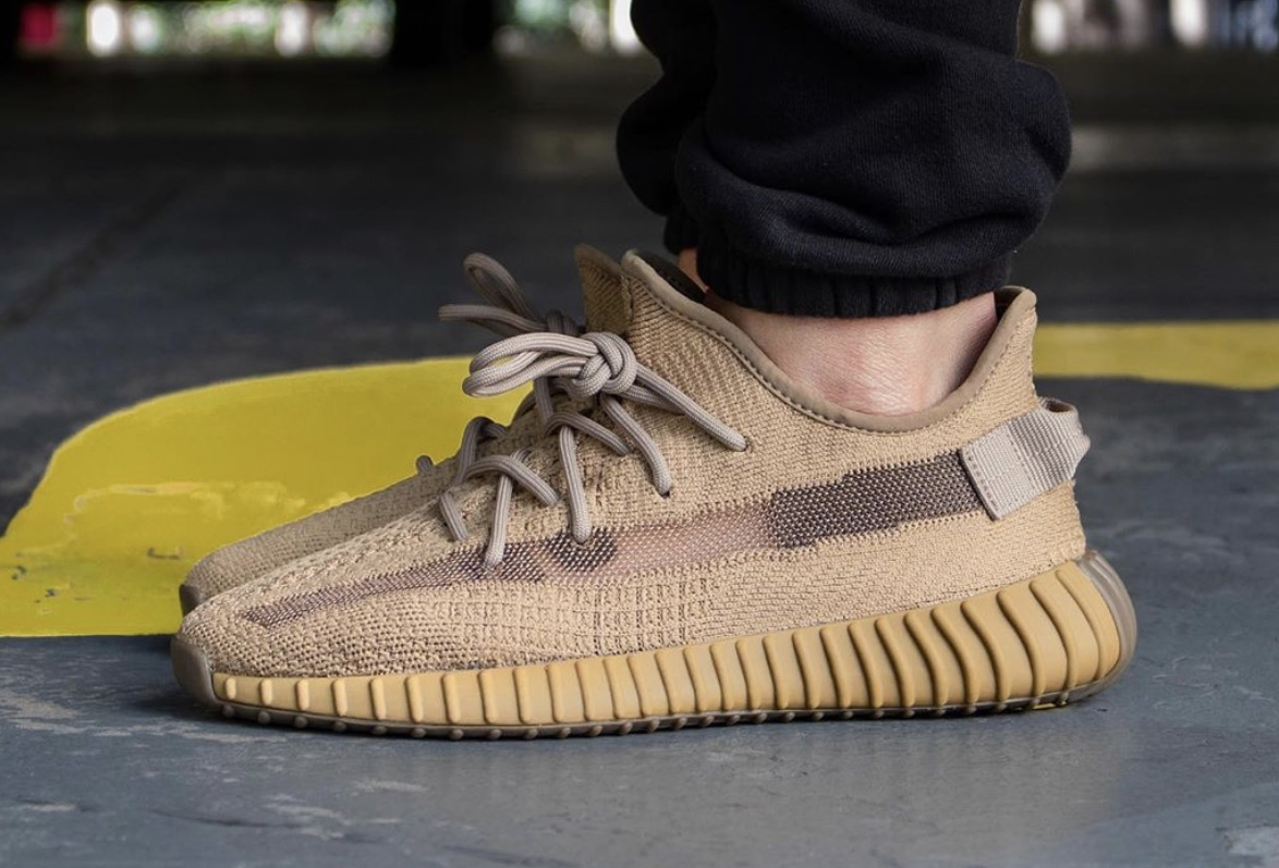 adidas Yeezy Boost 350 V2 Earth FX9033 Release Date On-Feet