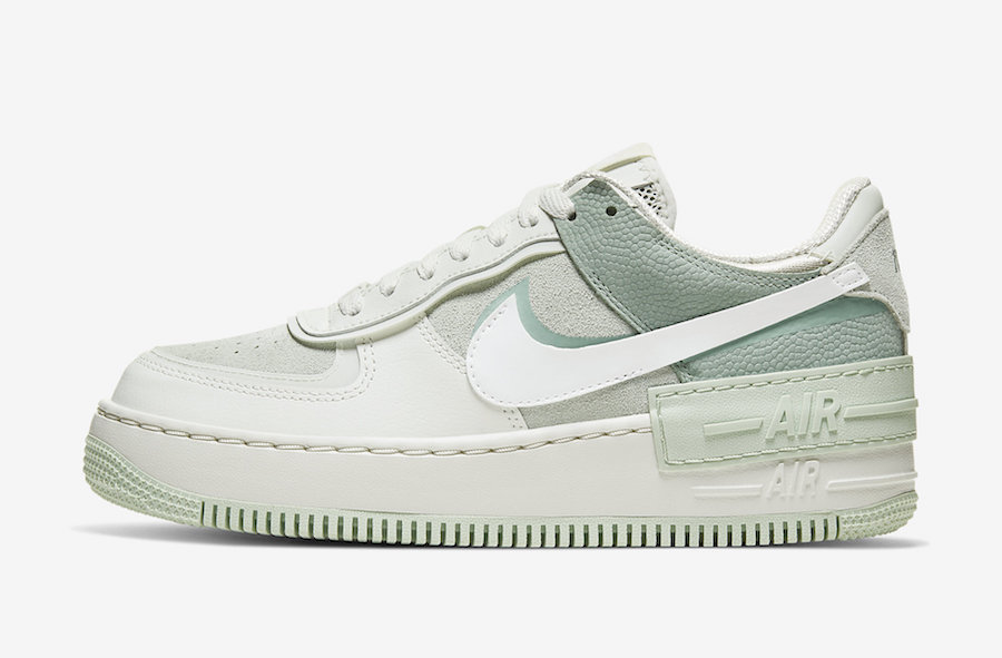 Nike Air Force 1 Shadow Pistachio Frost CW2655-001 Release Date