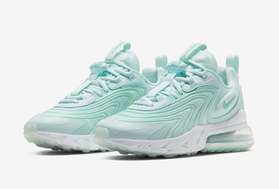 Nike Air Max 270 React Eng Mint Green Ck2608 300 Release Date Sbd