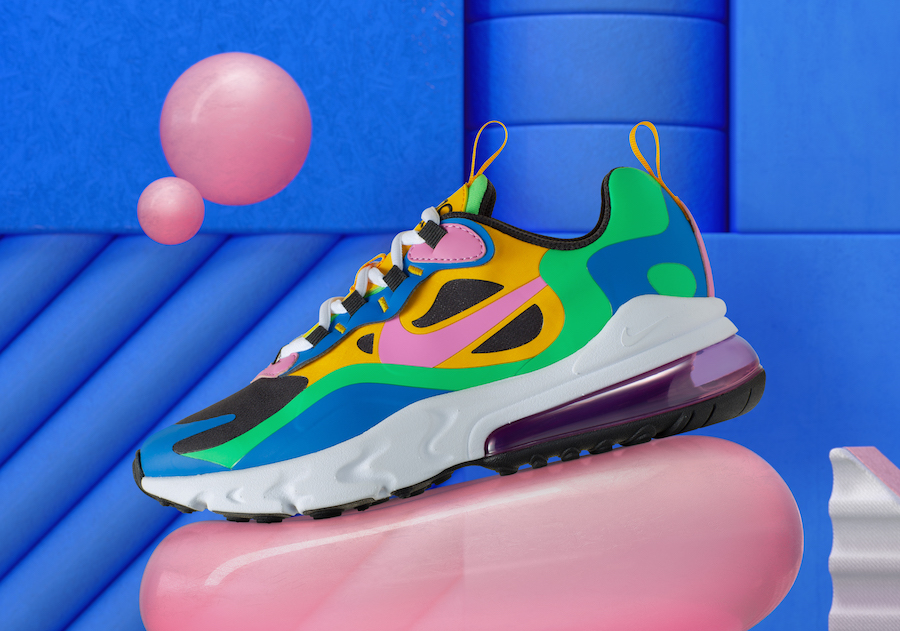Nike Gumball 270 React + Air Max Plus Release Date SBD
