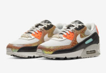 Nike Air Max 90 Gold Snakeskin CW2656-001 Release Date