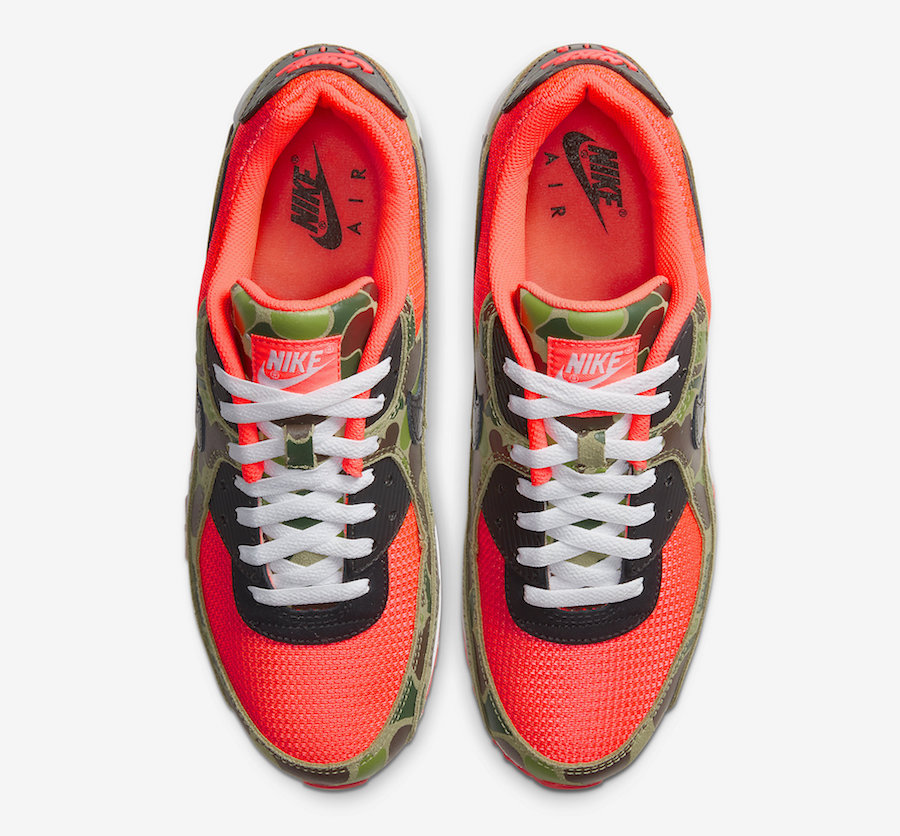 Nike Air Max 90 Reverse Duck Camo CW6024-600 Release Date Price