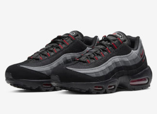 Nike Air Max 95 Black Red Grey CW7477-001 Release Date