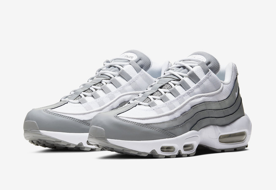 Nike Air Max 95 White Grey CT1268-001 Release Date